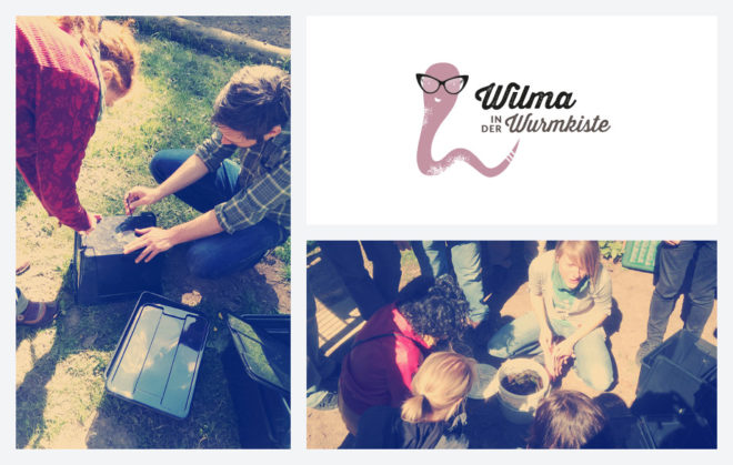 Wilma in der Wurmkiste: Workshops