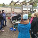 Wilma in der Wurmkiste: Workshop im Gartenbahnhof 1